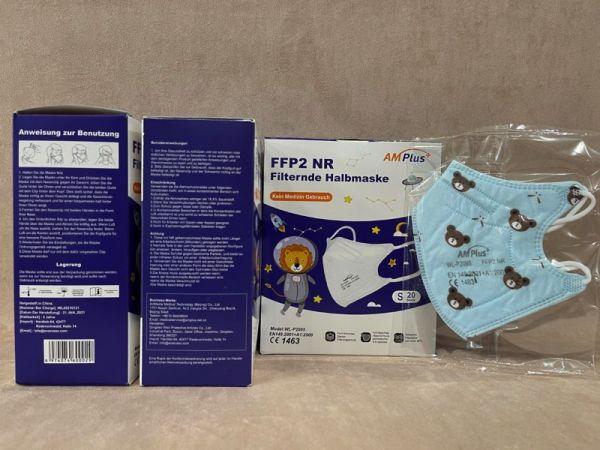 AM Plus Premium FFP2 Maske für Jungs