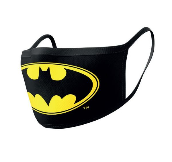 Batman Stoffmasken 2er-Pack Logo