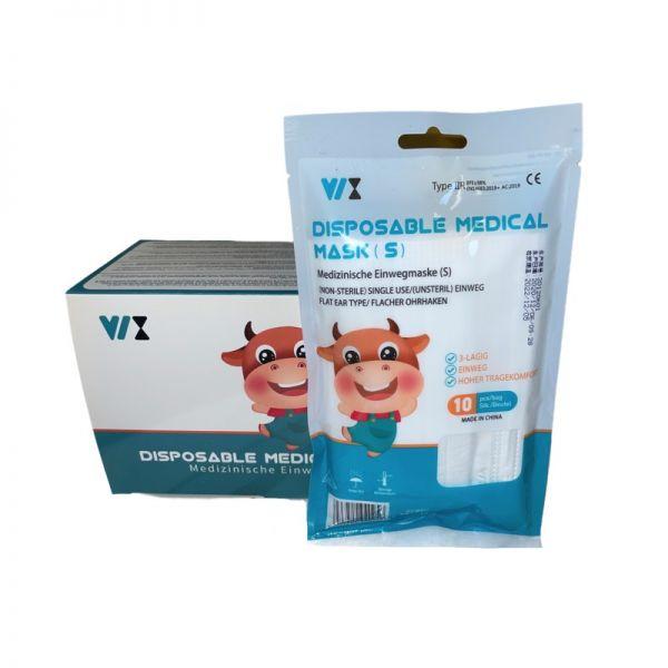 VIX medizinische OP Masken Kinder weiß